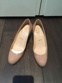 Authentic Christian louboutin nude pump