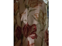 """PART-SEWN CURTAINS - 123""""LONG X 55""""WIDE - NEW MATERIAL £7 - L21"""