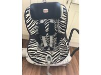 """""""Back Saving"""" 360 Car Seat Britax - great condition- smoke and pet free home"""