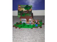 Lego minecraft 21115 The first night. Fully built to let buyer see