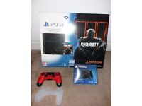 Play station 4, 2 chargers , charging station, lots of games 4 brand new never played
