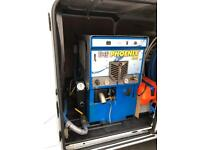 Phoenix 450 truckmount truck mount carpet cleaning machine with hoses, hose reel and wand