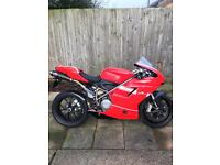 Ducati 848 track bike with full v5, road legal, Px taken?