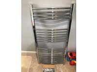 Heated towel rail/ radiator curved