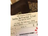 Selling Sasha: Refracted Live (16/02/18) ticket at Roundhouse £40 ONO