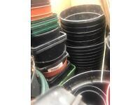 100+ plastic plant pots - £10 (bh10 Wallisdown)