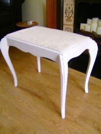 Olympus Louis XV1 dressing table stool