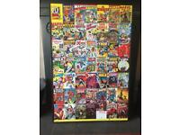 Marvel framed print