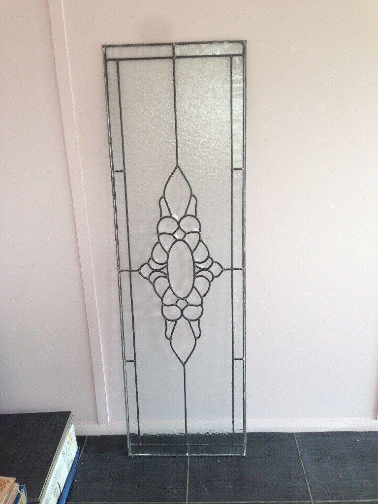 Leaded Glass Side Light Panel for Internal Use