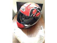 shoei xr -900 helmet size m, with 2 visors