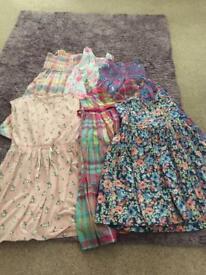 Bundle girls clothes age 9-10, 28 pieces