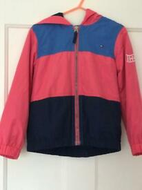 Designer Tommy Hilfiger Girls lightweight Jacket Age 4-5yfs