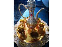 Beautiful Turkish tea set