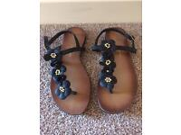 Size 3 ladies sandals, hardly worn, very good condition £3.