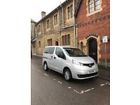 Car 7 seater Nissan nv200 with reverse camera