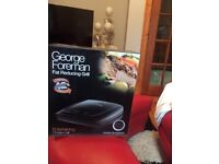 GEORGE FOREMAN 7 PORTION GRILL BRAND NEW NEVER USED.