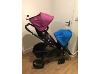 Double buggy can also be used as single