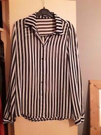 Select striped shirt £3 size 12