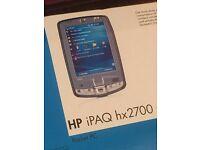 Unused, boxed PDA: HP IPAQ HX2700