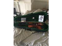Brand new 3/4 violin pack