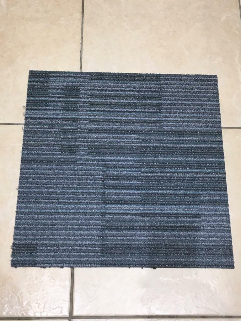 Premium Interface Carpet Tiles Grey / Blue Mix £1 each