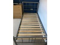 Single bed with Hypnos mattress