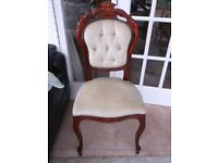 LOVELY LOUIS STYLE OCCASIONAL CHAIR
