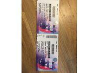 2 x tickets BBC Big Weekend - Saturday 26th May