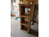 2 Wooden Bookcases
