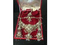 Beautiful Indian jewellery set only worn once