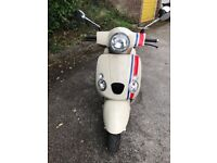 £800 Baotian Monza 125cc 2014 plate only 1000 miles on the clock