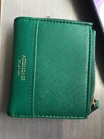 Smythson of bond street business card holder new in oxford accessorise purse in an emerald colour brand new reheart Images