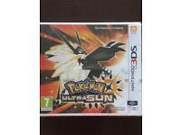 Pokemon Ultra Sun £30 3DS game