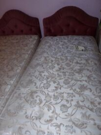 Single electric beds in good condition and working order sold singly or as a pair.