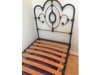 Single bed Laura Ashley Somerset dove grey in vgc