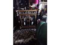 Oriental. Mother of pearl. Pillow. Cabinet forsale