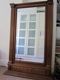 Vintage antique mirror