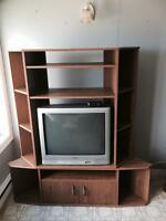 FOR SALE: TV and stand. 30.00