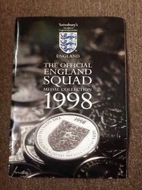 England Squad Medal Collection 1998