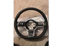 Volkswagen Golf GTI Mk7 Steering Wheel Multi-fuction DSG