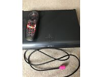 Sky+HD box with Star Wars remote and cable