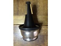 PRECISION 'DENIS WICK' ADJUSTABLE CUP MUTE : Model DW 5531 : for TRUMPET or CORNET