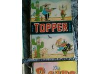 Vintage comic annual the topper book '60s