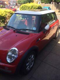 Mini Cooper 1.6 petrol low mileage