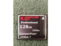 New Professional compact card flash 128gb