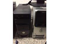 4 Dell Desktop Computers for sale