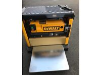 Dewalt thicknesser planer