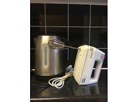 Kettle and mixer