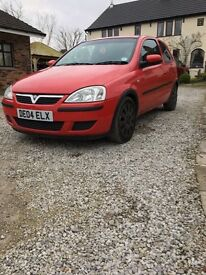 vauxhall corsa active twin port 1000 petrol. 2004