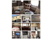 3 bed family, luxury caravan for hire Treccobay, Porthcawl